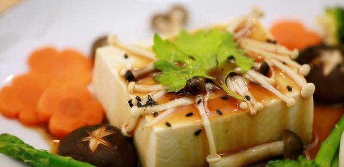 วิธีทำอาหารเพื่อสุขภาพเต้าหู้นึ่งซอสโชยุ
